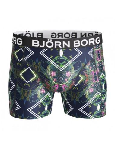 Björn Borg Boxershort Microfiber Single Pack Short BB NAITO Peacoat Polyamide