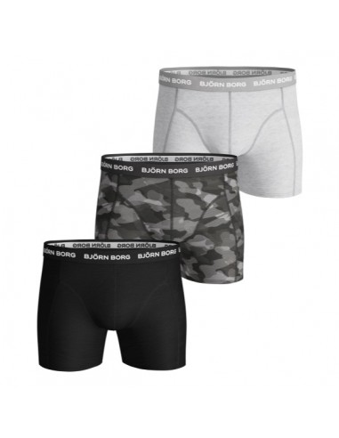 Björn Borg Boxershorts 3Pack SHADELINE SAMMY Black Beauty
