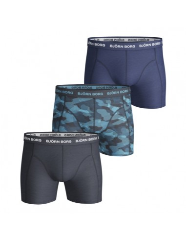 Björn Borg Boxershorts 3Pack SHADELINE SAMMY Total Eclipse