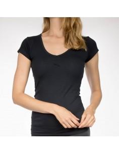 Claesens Dames T-Shirt Navy v-hals