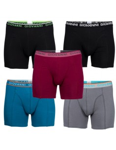 Giovanni Boxershorts GRIZLY 5Pack Heren Ondergoed
