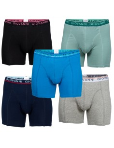 Giovanni Boxershorts BEAR 5Pack Heren Ondergoed