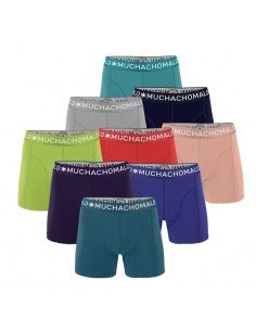 MuchachoMalo Solid 9Pack Actie Heren Boxershorts