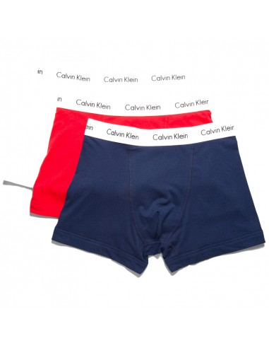 Calvin Klein Ondergoed Colors Red White Blue Low Rise Trunk 3pack