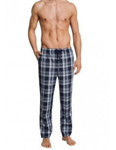 Schiesser Long Pants Lounge Broek Light Checkers