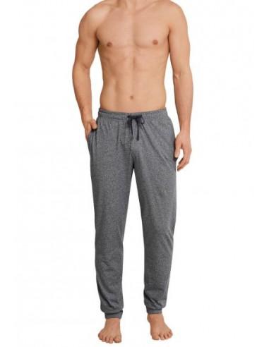 Schiesser Long Pants Lounge Broek Grey