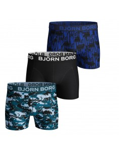 Björn Borg Boxershorts 3Pack Shorts BB SILHOUET Corsair