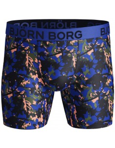 Björn Borg Boxershort Microfiber Single Pack Short Performance BB BRANCH Surf the Web Polyamide