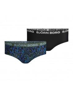 Bjorn Borg Meisjes 2Pack BB NY TINY FLOWERS Peacoat