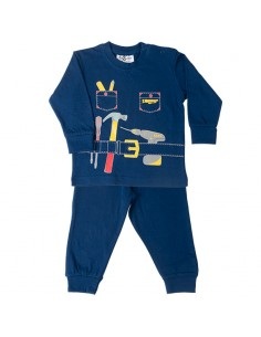 Fun2wear Pyjama HandyMan Navy