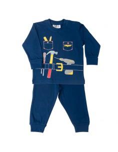 Fun2wear Pyjama HandyMan Navy