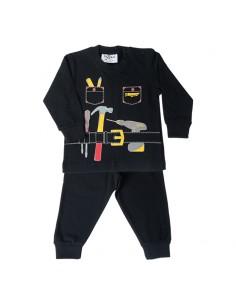 Fun2wear Pyjama HandyMan Black
