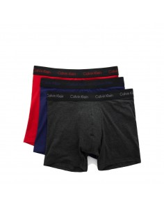 Calvin Klein Ondergoed Boxer Brief Cotton Stretch Blue Red Grey
