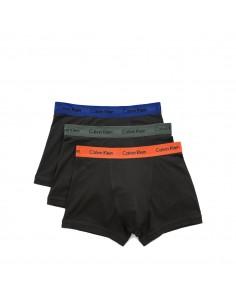Calvin Klein Ondergoed color mix 3Pack Grey Blue Orange Long Trunk
