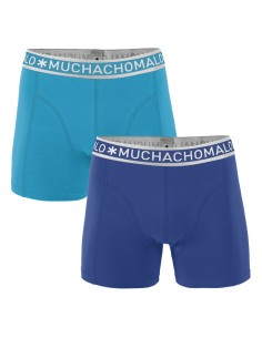 MuchachoMalo 3Pack SOLID 244 Black Navy Blue Boxershorts