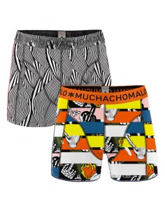 MuchachoMalo 2Pack BETWEEN Jongens Boxershorts
