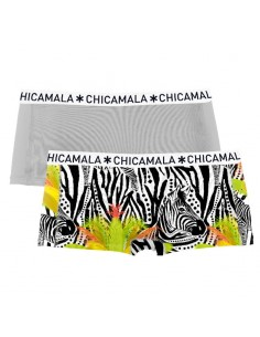 ChicaMala Short ZEBRA 2Pack