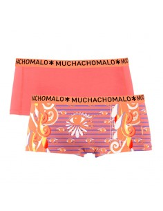 MuchachoMalo Short 2Pack Eyes Dames Ondergoed