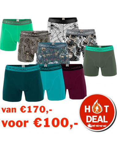 MuchachoMalo BLACK FRIDAY 9PACK SUPER ACTIE 1 Heren Boxershorts