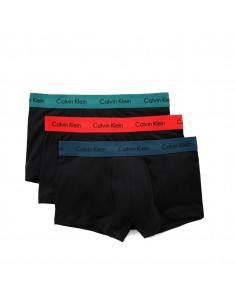 Calvin Klein Ondergoed 3Pack Blue Red Green Low Rise Trunk
