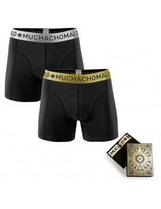 MuchachoMalo Christmas Special Gold 2018 2Pack Jongens Boxershorts
