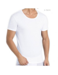 Sloggi Men 24/7 2Pack T-shirt Wit