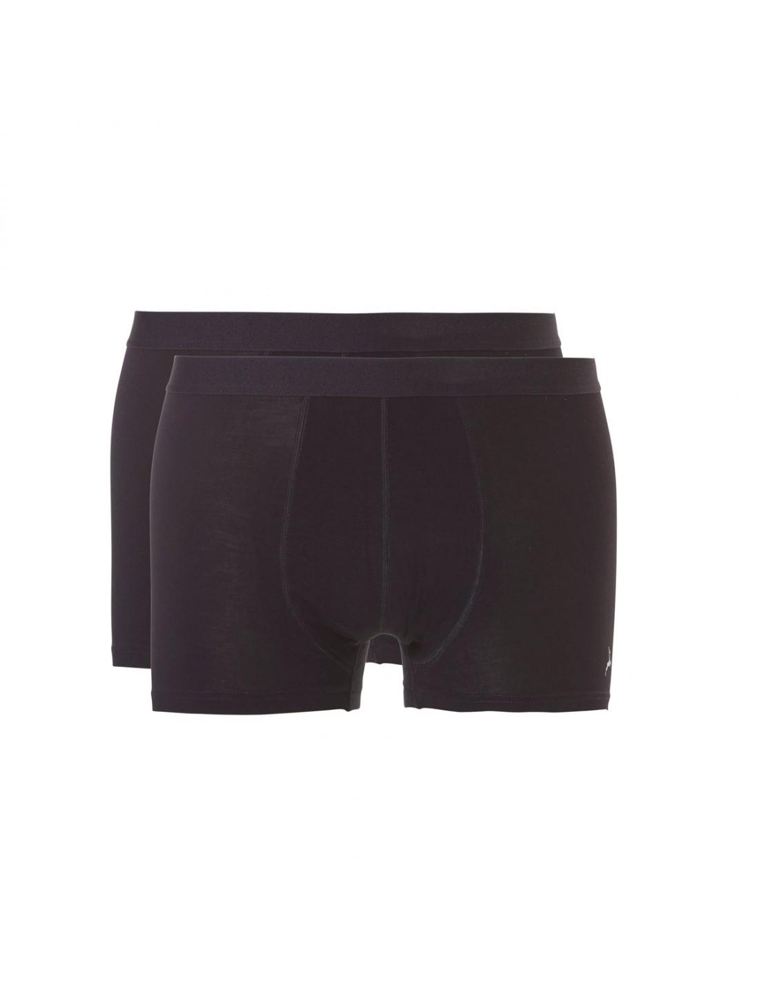 0250ace0ab5 Ten Cate ondergoed Men Bamboo Shorty Boxershort 2Pack Zwart