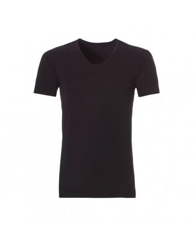 Ten Cate ondergoed Men Bamboo V-Shirt Zwart