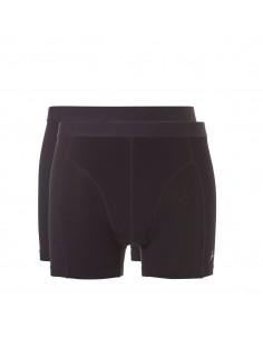 Ten Cate ondergoed Men Bamboo Boxershort 2Pack Zwart
