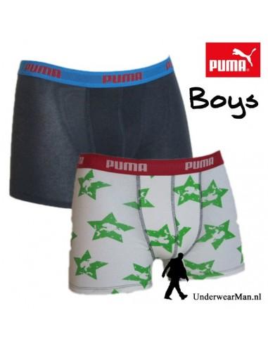 Puma Boxershort Duopak Superstar White