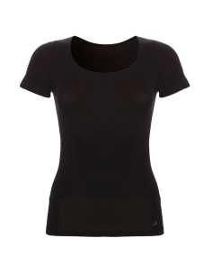 Ten Cate Dames T-Shirt Zwart