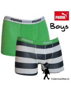 Puma Boxershort Duopak Big Stripe White