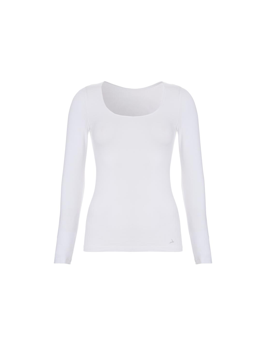 7830fdf8a33 Ten Cate Dames Shirt Longsleeve Wit