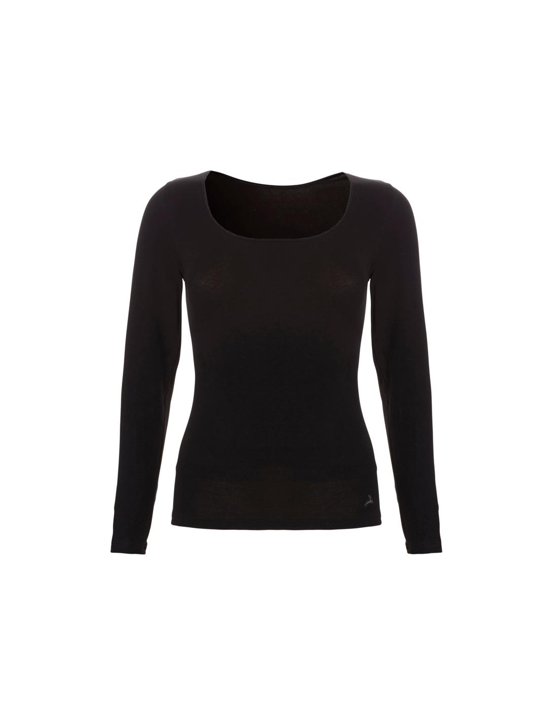 fa708e121df Ten Cate Dames Shirt Longsleeve Zwart