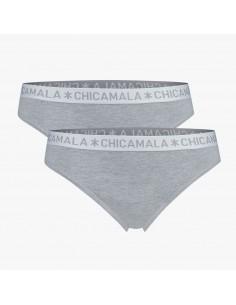 MuchachoMalo BASIC String Grijs 2Pack Dames Ondergoed