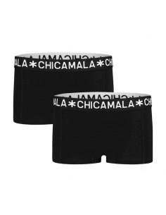MuchachoMalo BASIC Short Zwart 2Pack Dames Ondergoed