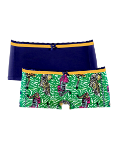 MuchachoMalo Tiger Short 2Pack Dames Ondergoed