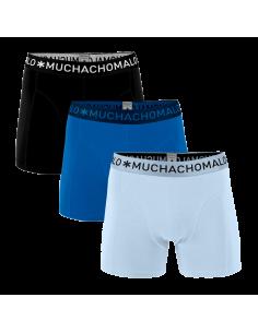 MuchachoMalo 3Pack SOLID 301 Heren Boxershorts