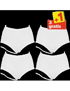 Sloggi Evernew Maxi 4 pack Wit 3+1 Gratis