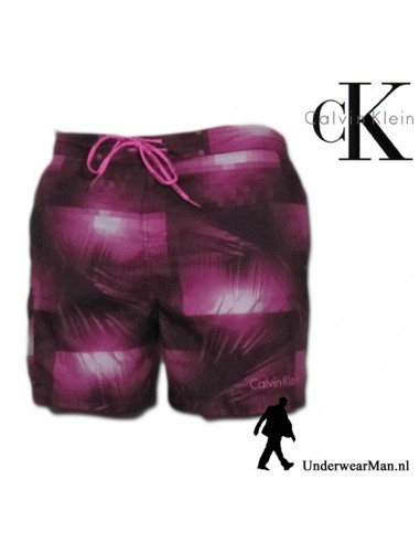 Calvin Klein Surf Short Hot Pink