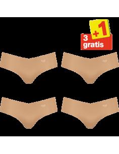 Sloggi Zero Microfibre Hipster 4 pack Skin 3+1 Gratis