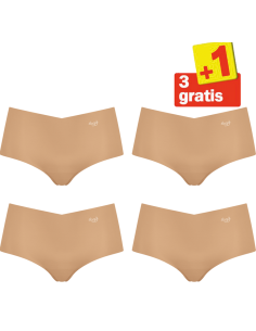 Sloggi Zero Microfibre Short 4 pack Skin 3+1 Gratis