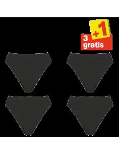 Sloggi Basic Tai Slip 4 pack zwart 3+1 gratis