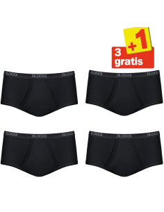 Sloggi Men Basic Maxi 4 pack Zwart 3+1 Gratis