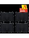 Sloggi Men Basic Short Zwart 4Pack, 3+1 gratis