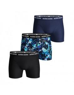 Björn Borg Boxershorts 3Pack Shorts LA Leaf