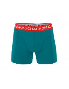 MuchachoMalo Solid 262 Aqua Blue Singlepak Heren Boxershorts