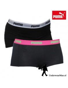 Puma Mini Short Black Pink 2Pack