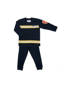 Fun2wear Pyjama Brandweer Navy