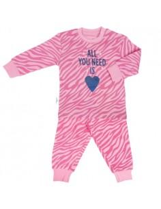 Frogs and Dogs Meisjes Pyjama Zebra Print